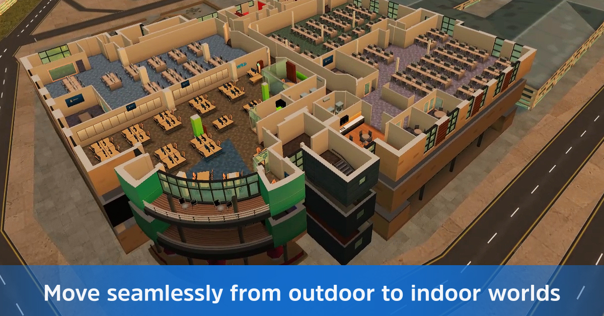 Create Virtual Outdoor to Indoor Worlds with Updated WRLD